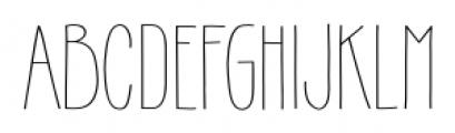 Gentil Regular Font LOWERCASE