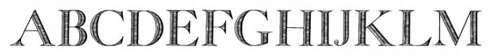 GeorgiaCapitals Regular Font UPPERCASE