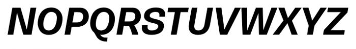 Gerlach Sans 601 Bold Italic Font UPPERCASE