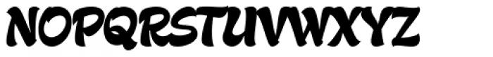 Gecko Font UPPERCASE