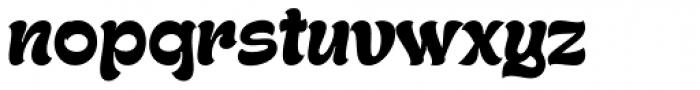 Gecko Font LOWERCASE