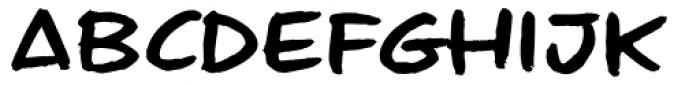 Geeksquat Font LOWERCASE