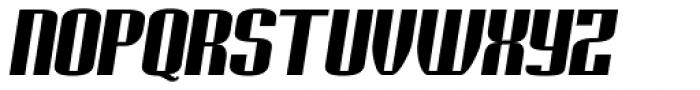 Geiger Bold Italic Font UPPERCASE