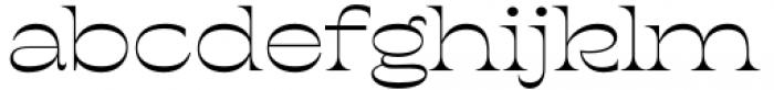 Geiny Regular Font LOWERCASE