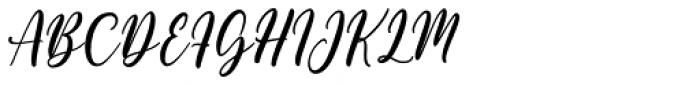 Gelathy Regular Font UPPERCASE