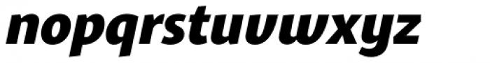 Gelato Sans Bold Italic Font LOWERCASE