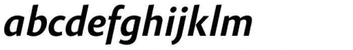 Gelato Sans Medium Italic Font LOWERCASE
