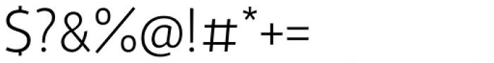 Gelato Sans Ultra Light Font OTHER CHARS