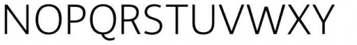 Gelato Sans Ultra Light Font UPPERCASE
