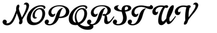 Gelato Script Font UPPERCASE