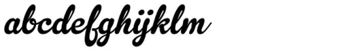 Gelato Script Font LOWERCASE