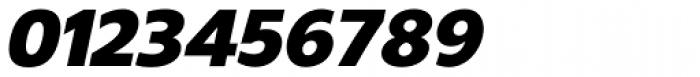 Gelder Sans Black Italic Font OTHER CHARS