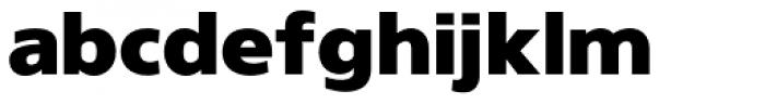 Gelder Sans Black Font LOWERCASE