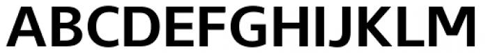 Gelder Sans Bold Font UPPERCASE
