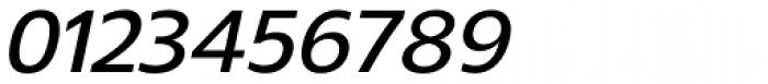Gelder Sans DemiBold Italic Font OTHER CHARS