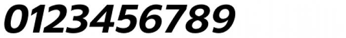 Gelder Sans ExtraBold Italic Font OTHER CHARS