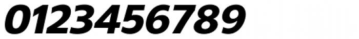 Gelder Sans Heavy Italic Font OTHER CHARS
