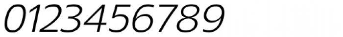Gelder Sans Italic Font OTHER CHARS
