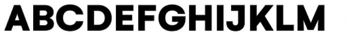 Gelion Black Font UPPERCASE