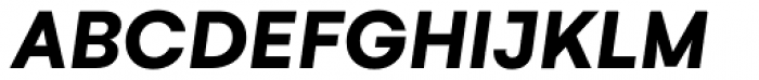 Gelion Bold Italic Font UPPERCASE