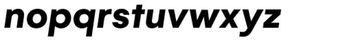 Gelion Bold Italic Font LOWERCASE