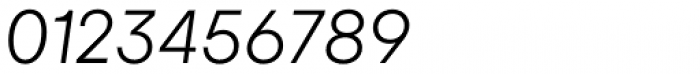 Gelion Light Italic Font OTHER CHARS