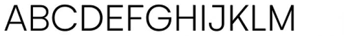 Gelion Light Font UPPERCASE