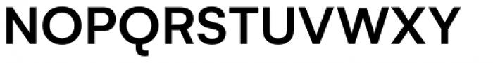 Gelion Medium Font UPPERCASE