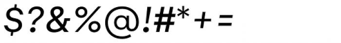 Gelion Regular Italic Font OTHER CHARS