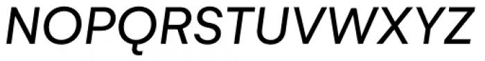 Gelion Regular Italic Font UPPERCASE