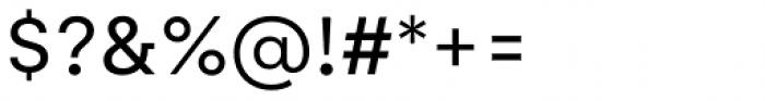 Gelion Regular Font OTHER CHARS