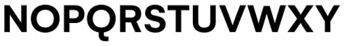 Gelion Semi Bold Font UPPERCASE