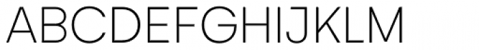 Gelion Thin Font UPPERCASE