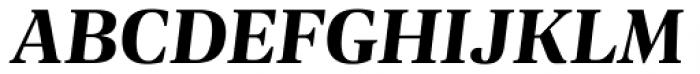 Geller Headline Bold Italic Font UPPERCASE
