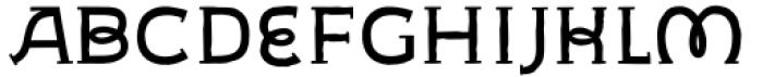 Geminian Caps Roman Font LOWERCASE
