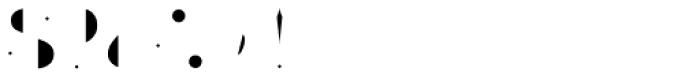 Gemline Filled Font OTHER CHARS