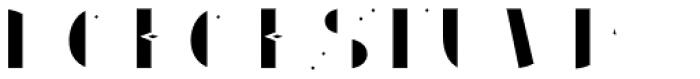 Gemline Filled Font UPPERCASE