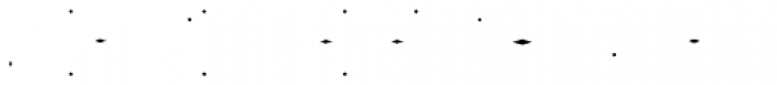 Gemline Gems Font UPPERCASE