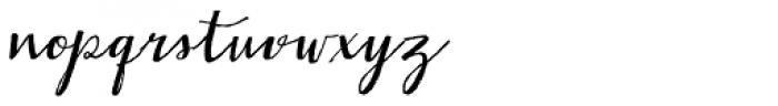 Gemmadonati Font LOWERCASE