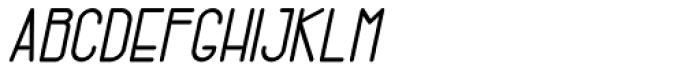 Gendos Bold Italic Font UPPERCASE