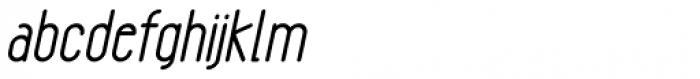 Gendos Bold Italic Font LOWERCASE