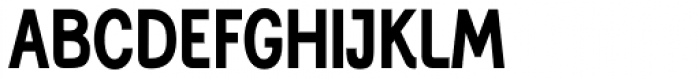 Generation Gothic Condensed Bold Font UPPERCASE