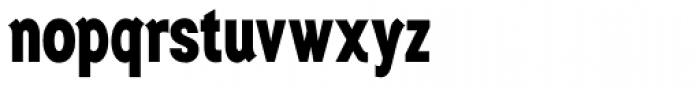 Generation Gothic Condensed ExtraBold Font LOWERCASE