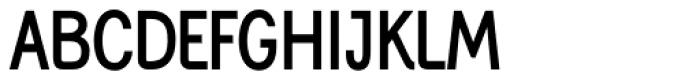 Generation Gothic Condensed Medium Font UPPERCASE