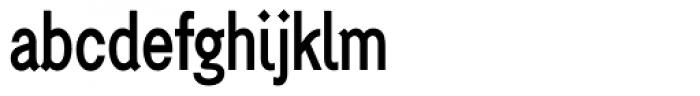 Generation Gothic Condensed Medium Font LOWERCASE
