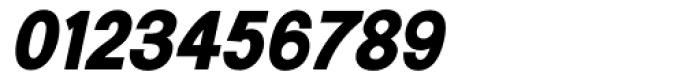 Generation Gothic ExtraBold Italic Font OTHER CHARS