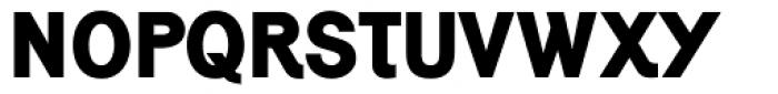 Generation Gothic ExtraBold Font UPPERCASE