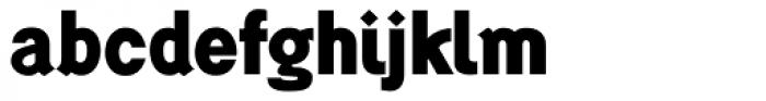 Generation Gothic ExtraBold Font LOWERCASE