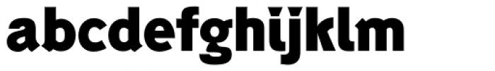 Generation Headline Bold Font LOWERCASE