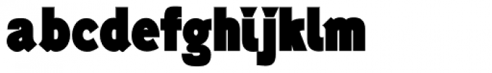 Generation Headline Condensed Elephant Font LOWERCASE